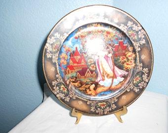 Autumn Fantasie Collector's Plate
