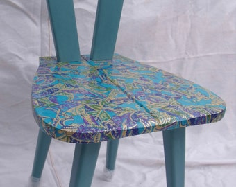 Wooden Decoupage Chair.