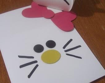 Kitty Kat gift box and card
