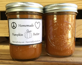 Pumpkin Butter Homemade Pumpkin Butter Organic Pumpkin Butter