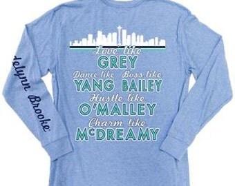 Grey's Anatomy Shirt-Jadelynn Brooke Shirt-Squad shirt-Grey's Anatomy-Preppy Tee-Jadelynn Brooke-Squad Goals-You're My Person-Bestie Shirt
