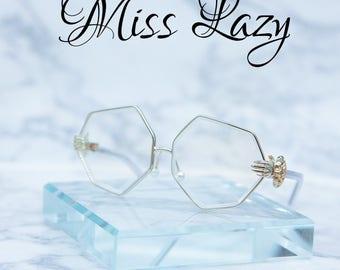 Miss Lazy vintage Glasses