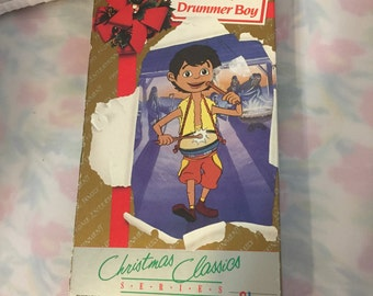 Y005  Little Drummer Boy VHS vcr Movie