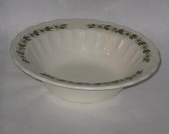Vintage Knowles Hermitage vegetable serving bowl dogwood