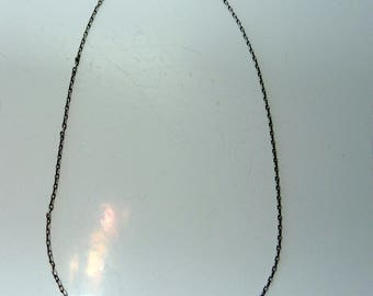 sterling silver necklace & sterling silver heart
