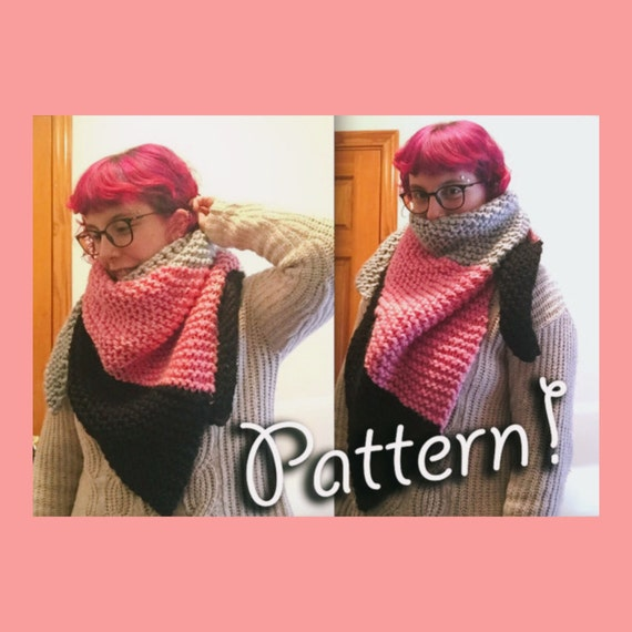 Knitting Pattern Hat Scarf Combo