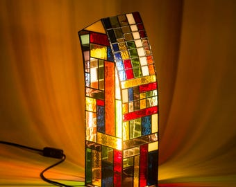 Stained glass lamp, table lamp, floor lamp, ambient light lamp,