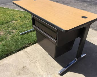 Herman Miller Eames Desk with Drawers