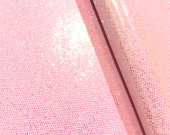 Pale Pink Chunky Glitter Brainbow Glitter 0.8mm Thickness Glitter Bows Jewellery Hair Bows