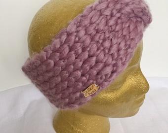 Purple Twist Headband