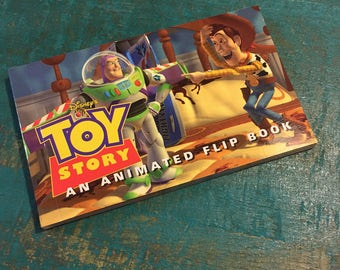 Toy Story Flip Book, 1995 First Edition