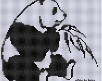 Panda 4 Cross Stitch Pattern