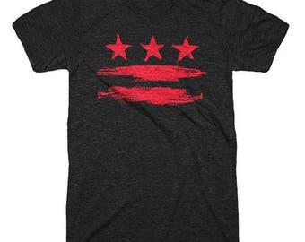 2XL - Washington DC Flag Shirt