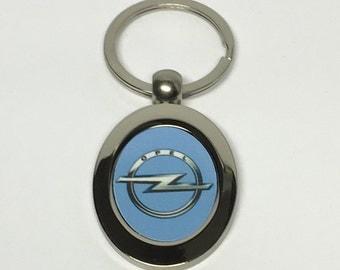 Opel metal keychain