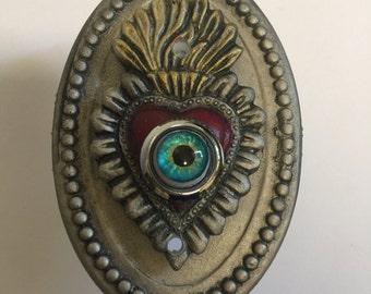 Sacred Heart Doorbell | Ex Voto Doorbell