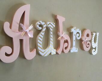 Hanging Wall Letters nursery letters nursery wall hanging letters nursery decor