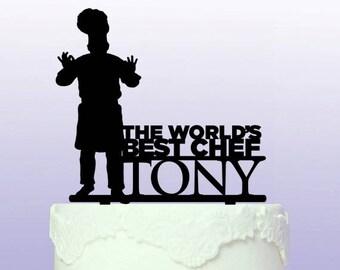 Personalised MasterChef Cake Topper
