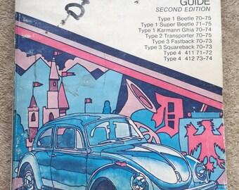 Vintage Chilton's Volkswagen 2 Repair & Tune-Up Guide/Workshop Manual Super Beetle Karmann Ghia VW Bus