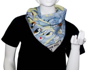Clearance Sale & Free shipping - Derpy Hooves Bandana / Scarf (My Little Pony: Friendship is Magic / Equestria Girls) Napkin / Handkerchief