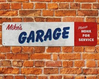 Personalized Garage Sign, Garage Sign