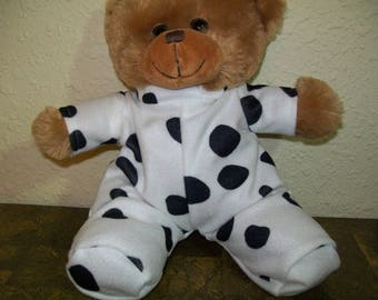 Dalmatian Sleeper for 10 Inch Cabbage Patch Premie, Berenguer, Baby Dolls, and Bears