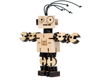 IZI - Wooden Robot Kit