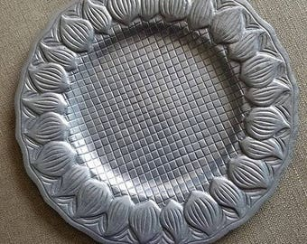 Vintage Silver Platter Tray by R.H. Macy & Co.