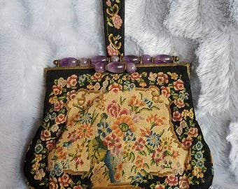 Jean Lindsay Shanghai Tapestry Clutch Purse