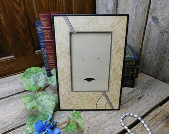 Antique Art Nouveau Easel Back Picture Frame