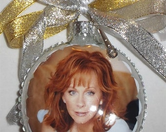 Reba McEntire inspired Tribute Christmas Ornament