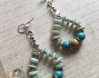 Item 234    Beaded Dangle Earrings