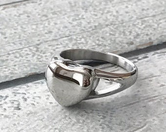 Urn ring - Memorial ring - Cremation jewelry - Cremation ring - Commemorative ring - Ash ring - Ash jewelry - Urn jewelry - Size 6 ring