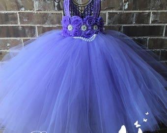 Lavender Dress, Lavender Flower Girl Dress, Lavender Tutu Dress, Lavender Dress, Lavender Wedding, Lavender Tulle Dress, Lavender