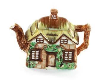Cottage Tea Pot Occupied Japan  -  Cottage Ware Teapot  English Country