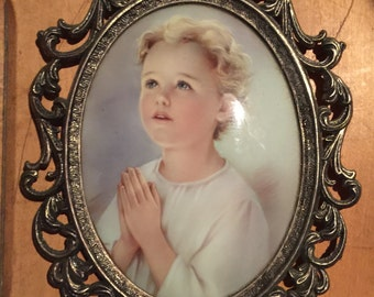 Home Interior praying boy