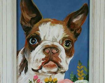 Custom Pet Portrait - dog - cat - guinea pig - hampster - rabbit