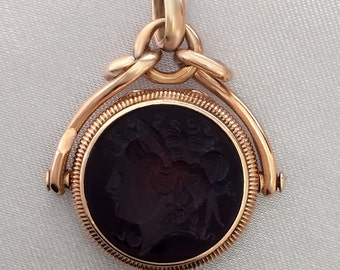 Very Cool Rose Gold INTAGLIO Locket