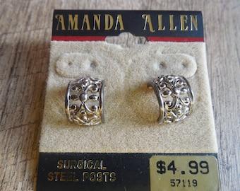 Amanda Allen Surgical Steel Posts Earrings