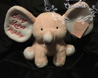 Elephant - Personalized with Embroidery