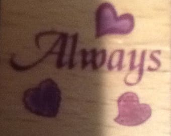 Joann Craft Stamps: Hearts & Always