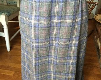 Vintage Pendleton skirt.