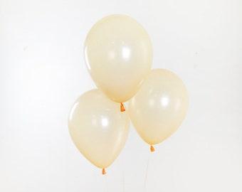 11 Inch Pearl Blush Peach Balloon, Peach Baby Shower, Peach Bridal Shower, Blush Baby Shower, Blush Wedding Balloon, Peach Party Balloon