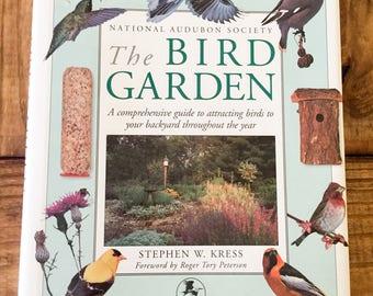 Vintage The Bird Garden Book National Audubon Society Kress Peterson Hardcover