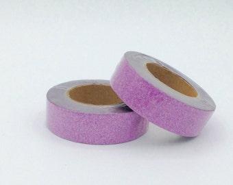 Glitter Washi Tape roll  light pink  10m scrapbooking planner supplies - Gift - decoration bestseller design