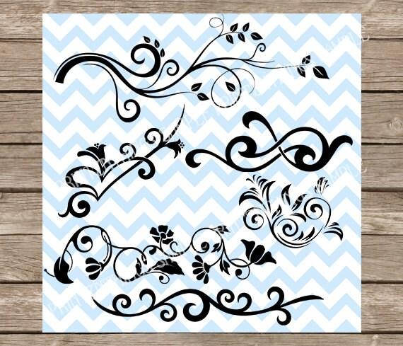 Download Flourish SVG Scrapbooking Swirls clipart wedding svg ...