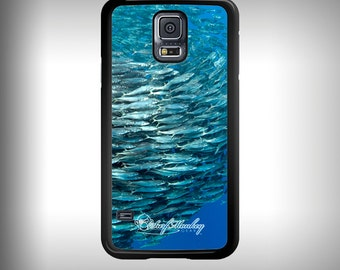 Samsung Galaxy S5 phone case with Full color custom graphics -  Bait Ball