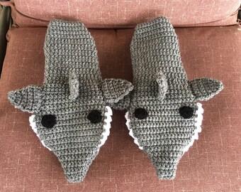 Crochet Shark Socks