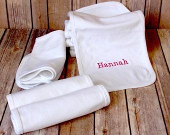 cotton burp cloth, monogrammed baby burp cloth, personalized baby burp cloth, soft baby burp cloth, baby burp cloth