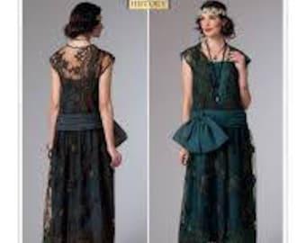 1920s 1930s Flapper Dress