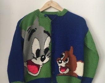 Vintage tom & jerry vest